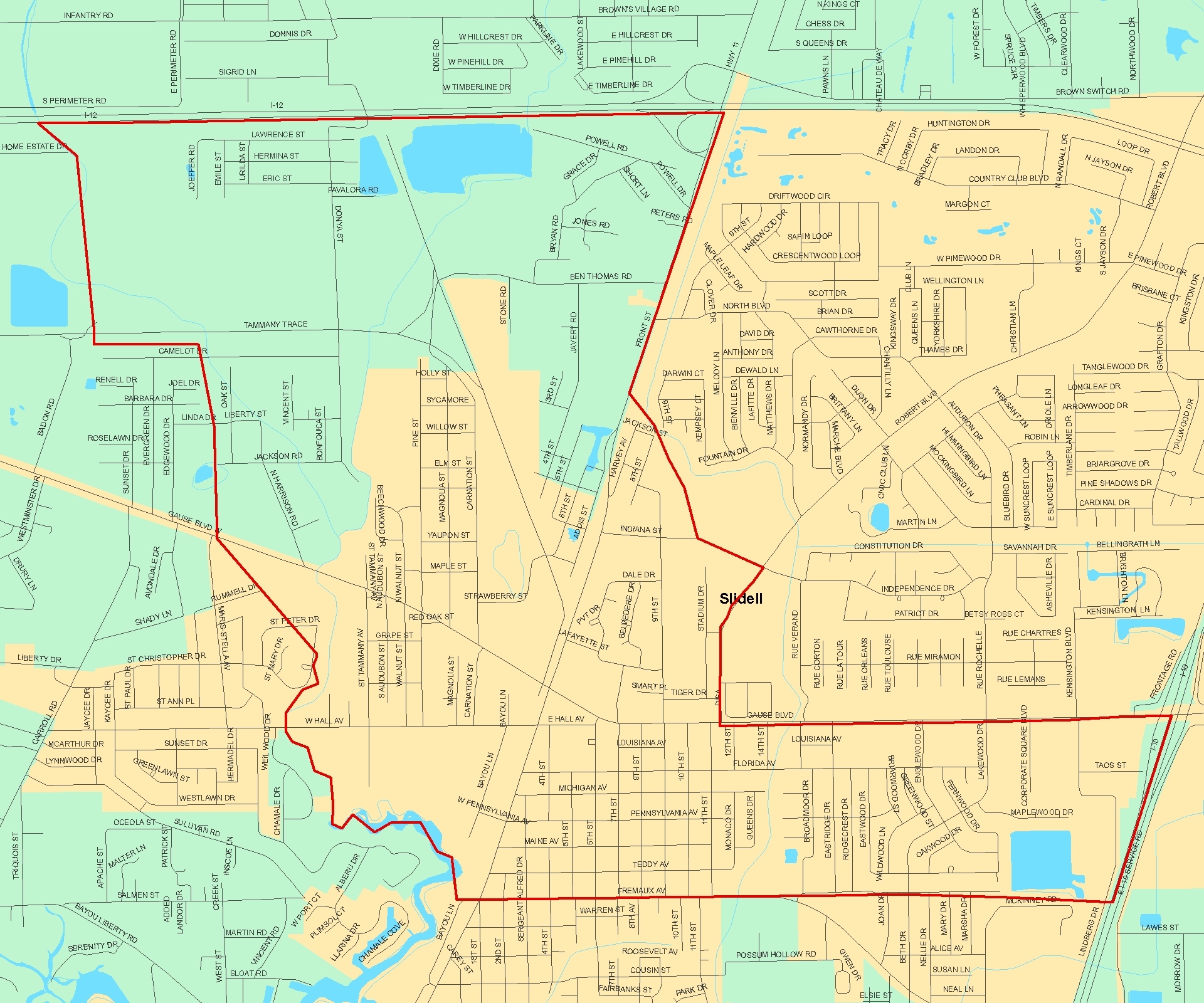 St Tammany School District Maps - The Sibley Group Norths at ... on
